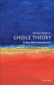 Ebook in inglese Choice Theory: A Very Short Introduction Allingham, Michael