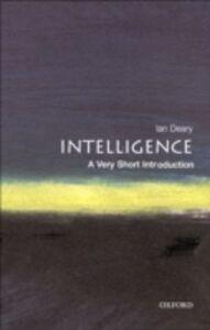 Ebook in inglese Intelligence: A Very Short Introduction Deary, Ian J.