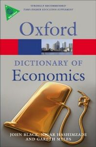 Ebook in inglese Dictionary of Economics