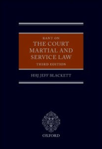 Ebook in inglese Rant on the Court Martial and Service Law Blackett, HHJ Jeff