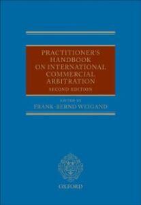 Foto Cover di Practitioner's Handbook on International Commercial Arbitration, Ebook inglese di  edito da OUP Oxford