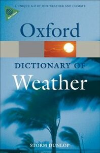 Ebook in inglese Dictionary of Weather Dunlop, Storm