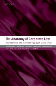 Foto Cover di Anatomy of Corporate Law: A Comparative and Functional Approach, Ebook inglese di AA.VV edito da OUP Oxford