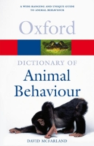 Ebook in inglese Dictionary of Animal Behaviour Mcfarland, David