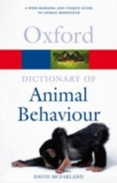 Dictionary of Animal Behaviour