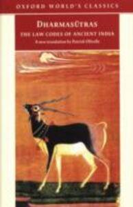 Foto Cover di Dharmasutras : The Law Codes of Ancient India, Ebook inglese di Mark J. Macgowan, edito da OUP Oxford