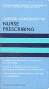 Ebook in inglese Oxford Handbook of Nurse Prescribing -, -