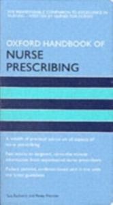 Ebook in inglese Oxford Handbook of Nurse Prescribing -, -