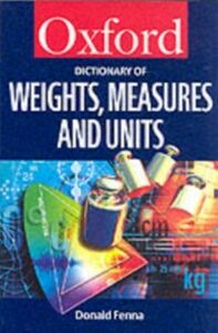 Ebook in inglese Dictionary of Weights, Measures, and Units Fenna, Donald