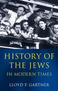 Ebook in inglese History of the Jews in Modern Times Gartner, Lloyd P.