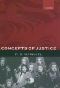 Ebook in inglese Concepts of Justice Raphael, D. D.