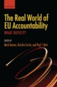 Foto Cover di Real World of EU Accountability: What Deficit?, Ebook inglese di  edito da OUP Oxford