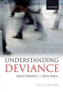 Foto Cover di Understanding Deviance, 5th ed., Ebook inglese di  edito da OUP Oxford