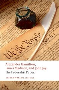 Foto Cover di Federalist Papers, Ebook inglese di AA.VV edito da OUP Oxford