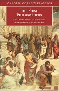 Ebook in inglese First Philosophers : The Presocratics and Sophists -, -