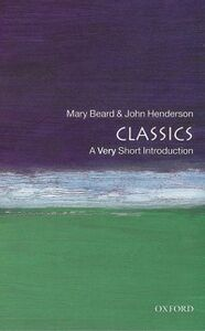 Ebook in inglese Classics: A Very Short Introduction Beard, Mary , Henderson, John