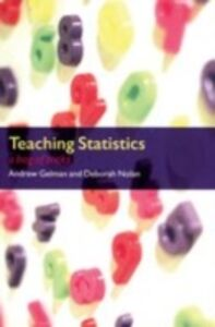 Ebook in inglese Teaching Statistics: A Bag of Tricks Gelman, Andrew , Nolan, Deborah