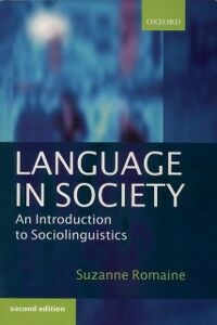 Ebook in inglese Language in Society: An Introduction to Sociolinguistics Romaine, Suzanne