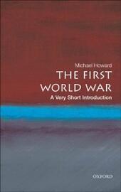 First World War: A Very Short Introduction