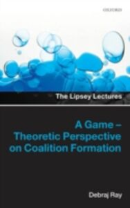 Ebook in inglese Game-Theoretic Perspective on Coalition Formation Ray, Debraj