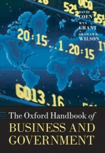 Ebook in inglese Oxford Handbook of Business and Government