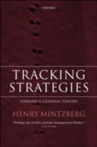 Ebook in inglese Tracking Strategies: Toward a General Theory Mintzberg, Henry