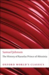 Ebook in inglese History of Rasselas, Prince of Abissinia Johnson, Samuel