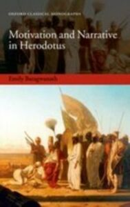 Ebook in inglese Motivation and Narrative in Herodotus Baragwanath, Emily
