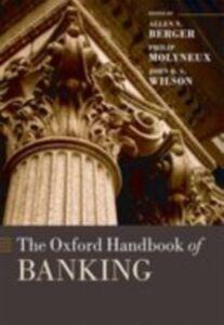 Ebook in inglese Oxford Handbook of Banking -, -