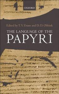 Ebook in inglese Language of the Papyri -, -
