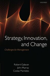 Ebook in inglese Strategy, Innovation, and Change: Challenges for Management -, -