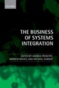 Ebook in inglese Business of Systems Integration -, -