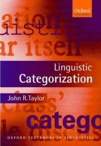 Ebook in inglese Linguistic Categorization Taylor, John R.
