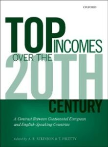 Ebook in inglese Top Incomes Over the Twentieth Century: A Contrast Between Continental European and English-Speaking Countries