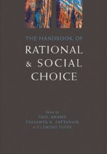Ebook in inglese Handbook of Rational and Social Choice -, -