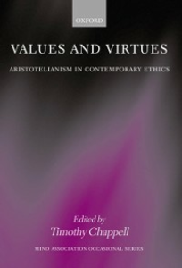 Ebook in inglese Values and Virtues: Aristotelianism in Contemporary Ethics -, -