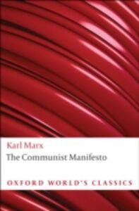 Ebook in inglese Communist Manifesto Engels, Friedrich , Marx, Karl
