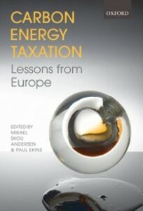 Foto Cover di Carbon-Energy Taxation: Lessons from Europe, Ebook inglese di  edito da OUP Oxford