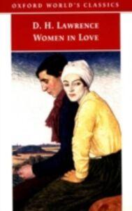 Ebook in inglese Women in Love Lawrence, D. H.