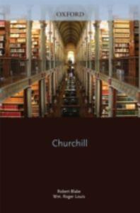 Foto Cover di Churchill, Ebook inglese di  edito da Clarendon Press