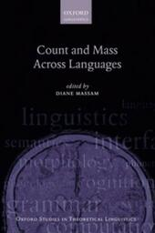 Count and Mass Across Languages