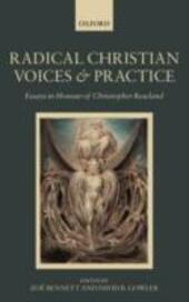 Radical Christian Voices and Practice: Essays in Honour of Christopher Rowland