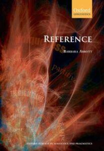 Foto Cover di Reference, Ebook inglese di Barbara Abbott, edito da OUP Oxford
