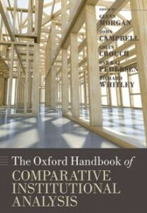 Ebook in inglese Oxford Handbook of Comparative Institutional Analysis -, -