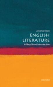 Foto Cover di English Literature: A Very Short Introduction, Ebook inglese di Jonathan Bate, edito da OUP Oxford