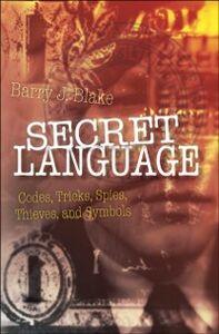 Ebook in inglese Secret Language Blake, Barry J.