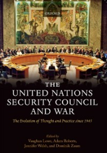 Ebook in inglese United Nations Security Council and War: The Evolution of Thought and Practice since 1945 -, -