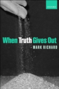 Ebook in inglese When Truth Gives Out Richard, Mark