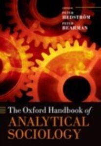 Foto Cover di Oxford Handbook of Analytical Sociology, Ebook inglese di  edito da OUP Oxford