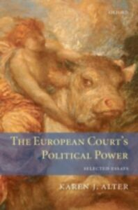 Foto Cover di European Court's Political Power: Selected Essays, Ebook inglese di Karen Alter, edito da OUP Oxford
